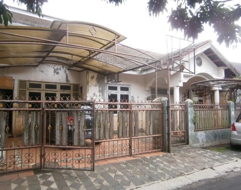 Dilelang Sebidang tanah seluas 120 M 2 berikut bangunan (Rumah Tinggal) di Pamulang