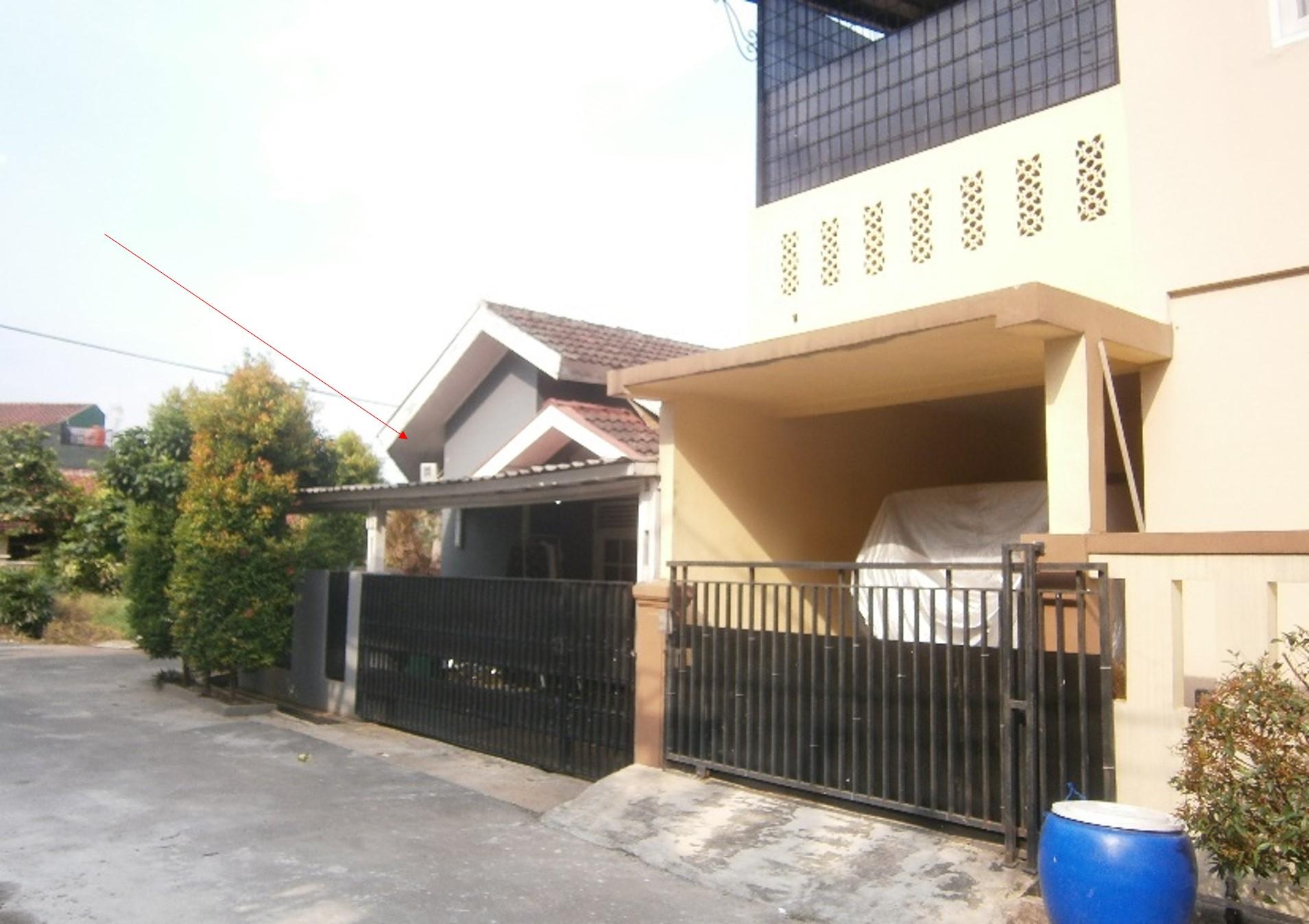 Dilelang Sebidang tanah seluas 110 M 2 berikut bangunan (Rumah Tinggal) di Pamulang
