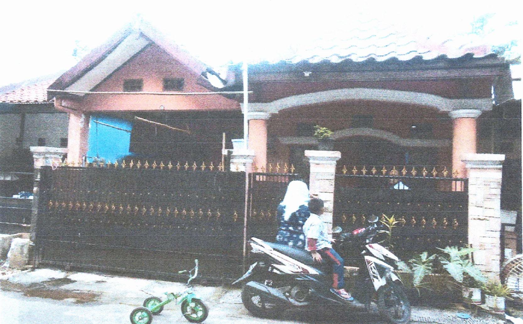 Dilelang Sebidang tanah seluas 78 m 2 berikut bangunan (Rumah) di Bekasi