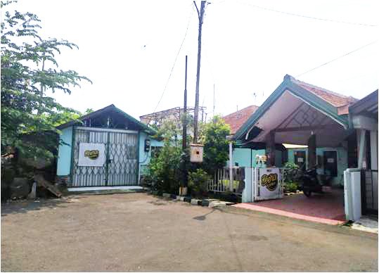 Dilelang Sebidang tanah seluas 549 m 2 berikut bangunan di Bogor