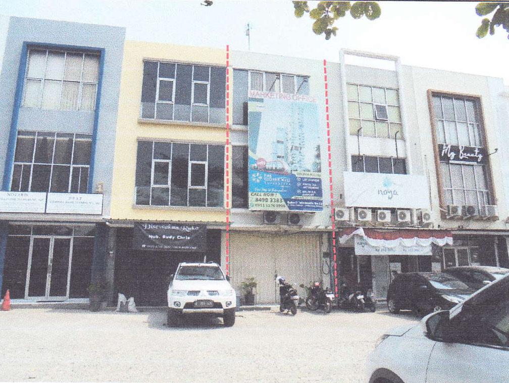 Dilelang Sebidang tanah seluas 55 m 2 berikut bangunan Ruko  di Bekasi