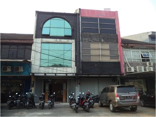 DIJUAL RUKO DENGAN LUAS 260m2 DI JAKARTA TIMUR