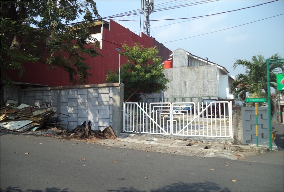 DIJUAL TANAH KOSONG DENGAN LUAS 272m2 DI JAKARTA TIMUR